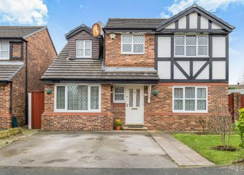 Thumbnail 4 bed detached house for sale in Winterlea Drive, Halewood, Liverpool