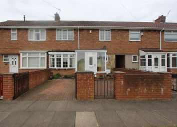 Thumbnail 3 bedroom terraced house for sale in Lingfield Green, Darlington