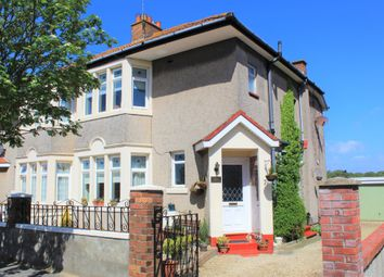 Thumbnail 3 bed semi-detached house for sale in Berkeley Crescent, Uphill, Weston-Super-Mare