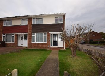 Thumbnail End terrace house for sale in Great Cullings, Rush Green, Romford