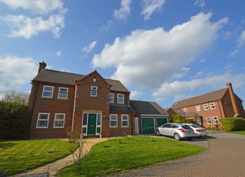 Thumbnail 4 bed detached house for sale in Ellis Gardens, Scalby, Scarborough