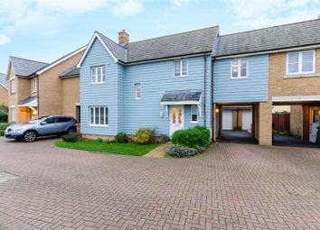 Thumbnail 4 bed link-detached house for sale in Verbena Drive, Wymondham