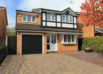 Thumbnail 4 bed detached house for sale in Burton Grove, Leighton, Crewe