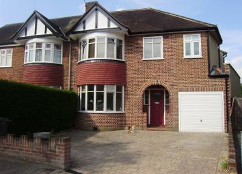 Thumbnail 5 bed semi-detached house for sale in Conway Gardens, Enfield