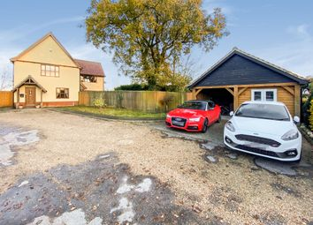 Thumbnail 4 bed detached house for sale in Mill Green, Stonham Aspal, Stowmarket