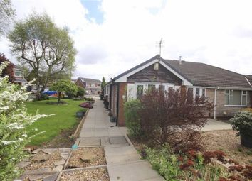 Thumbnail 3 bed semi-detached bungalow for sale in Hillfield Drive, Boothstown, Manchester