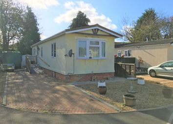 Thumbnail 1 bedroom mobile/park home for sale in Grange Park Mobile Homes, Shamblehurst Lane, Hedge End, Southampton