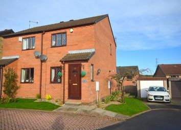 Thumbnail 2 bed semi-detached house to rent in Bradshaw Avenue, Treeton, Rotherham