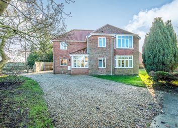 Thumbnail 4 bed detached house for sale in Stone Road, Yaxham, Dereham