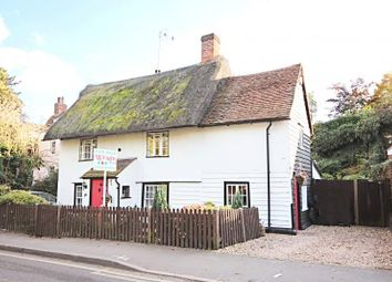 Thumbnail 2 bed semi-detached house to rent in Station Road, Sawbridgeworth, Herts