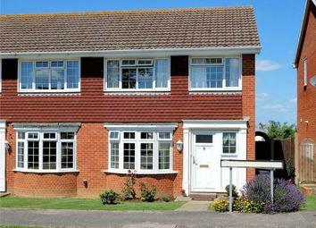 Thumbnail 3 bedroom semi-detached house for sale in Florence Avenue, Seasalter, Whitstable