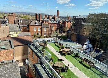 Thumbnail 3 bed flat for sale in The View, Crown House, Shrewsbury