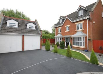 Thumbnail 5 bed detached house for sale in Washington Close, Widnes, Cheshire