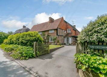 Thumbnail 3 bed semi-detached house for sale in The Village, Alciston, East Sussex