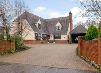Thumbnail 4 bed detached house for sale in Cameron Close, Long Melford, Sudbury