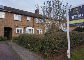 Thumbnail 3 bed terraced house for sale in Falcon Lodge Crescent, Sutton Coldfield
