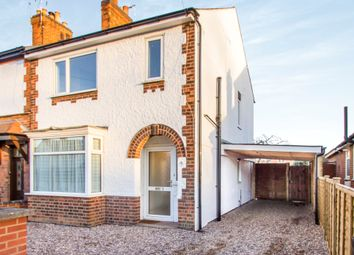 Thumbnail 3 bed end terrace house for sale in Victoria Road, Whetstone, Leicester