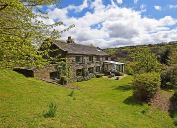 Thumbnail 5 bed detached house for sale in Upper Lumb Lane, Cragg Vale, Hebden Bridge