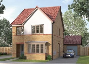 "Thumbnail 4 bed detached house for sale in ""The Finsbury"" at Ward Road, Clipstone Village, Mansfield"