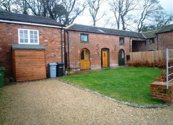 Thumbnail 3 bedroom barn conversion to rent in Church Lane, North Rode, Congleton