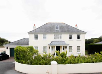 Thumbnail 4 bed detached house for sale in La Route Orange, St. Brelade, Jersey