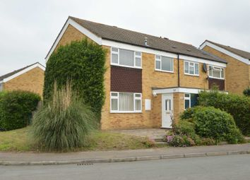 Thumbnail 3 bed semi-detached house to rent in Bennett Close, Cobham