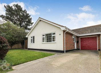 Thumbnail 3 bed semi-detached bungalow for sale in Meadow Gardens, Beccles