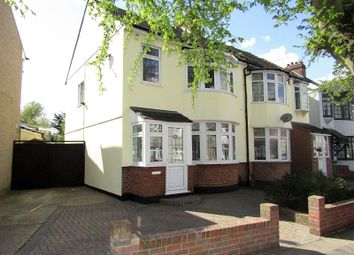 Thumbnail 3 bedroom semi-detached house for sale in Cambridge Avenue, Romford, Essex.