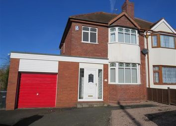 Thumbnail 3 bed property to rent in Dingle Road, Dudley