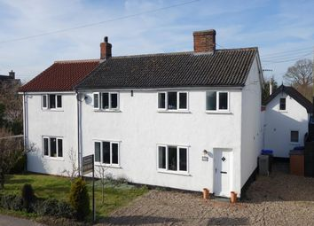 Thumbnail 5 bed detached house for sale in Common Road, Hopton, Diss