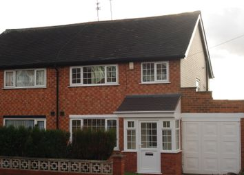 Thumbnail 3 bed semi-detached house to rent in Yateley Crescent, Great Barr