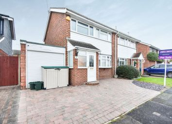 Thumbnail 3 bed semi-detached house for sale in Foulgar Close, Chelmsford