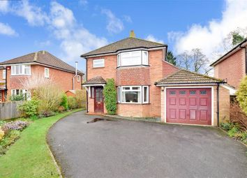Thumbnail 3 bed detached house for sale in Pulens Crescent, Petersfield, Hampshire