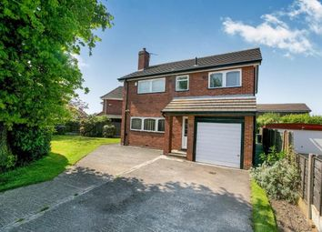 Thumbnail 4 bed detached house for sale in Radnormere Drive, Cheadle Hulme, Stockport, Greater Manchester