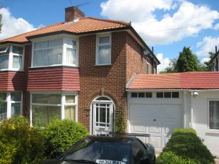 Thumbnail 3 bed semi-detached house to rent in Orchard Gate, Greenford