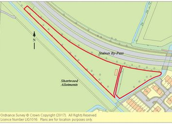 Thumbnail Land for sale in Land Adjoining Shortwood Allotments, Staines Bypass, Ashford, Middlesex