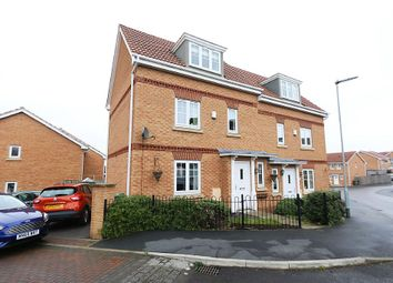 Thumbnail 3 bed semi-detached house for sale in The Wharf, Knottingley, West Yorkshire