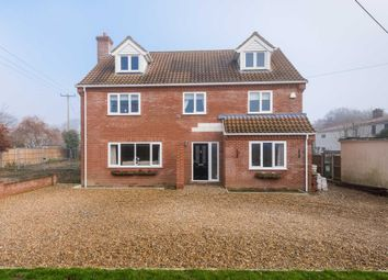 Thumbnail 4 bed detached house for sale in Manor Road, Newton St Faiths
