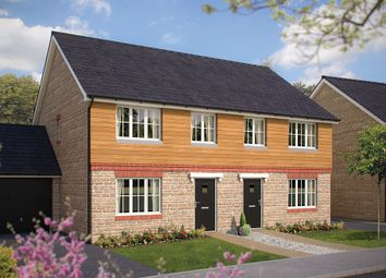 "Thumbnail 3 bed semi-detached house for sale in ""The Elmstone"" at Gotherington Lane, Bishops Cleeve, Cheltenham"