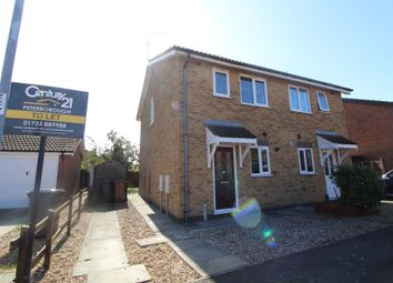Thumbnail 2 bedroom semi-detached house to rent in Christopher Close, Peterborough