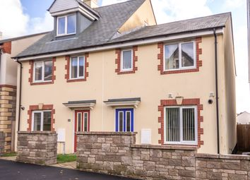 Thumbnail 3 bed semi-detached house for sale in Trevarthian Road, St. Austell