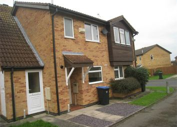 Thumbnail 2 bed terraced house to rent in Springfield Close, Broughton Astley, Leicester