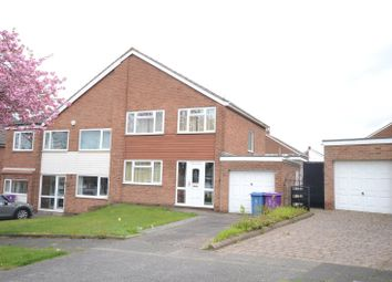 Thumbnail 3 bed semi-detached house for sale in Fieldfare Close, Gateacre, Liverpool