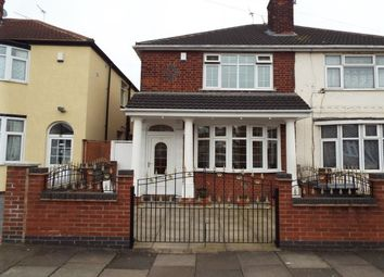 Thumbnail 3 bed semi-detached house to rent in Purley Road, Leicester