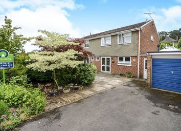 Thumbnail 3 bed semi-detached house for sale in Byron Avenue, Winchester