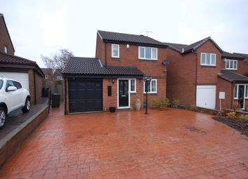 Thumbnail 3 bed detached house for sale in Harwood Drive, Killingworth, Newcastle Upon Tyne