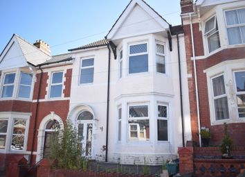 Thumbnail 4 bed terraced house for sale in Richmond Road, Newport