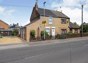 Thumbnail 2 bed semi-detached house for sale in Burrowmoor Road, March