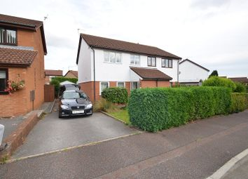Thumbnail 3 bed semi-detached house to rent in Pennyroyal Close, St Mellons, Cardiff