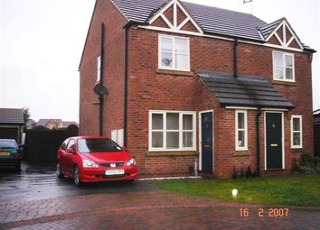 Thumbnail 2 bed semi-detached house to rent in Tilia Close, Scunthorpe